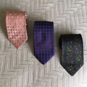 Hugo Boss 3 tie bundle